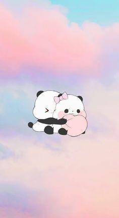 Love Panda IPhone Wallpaper🐼