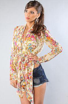 Unif The Tea Party Kimono : Karmaloop.com - Global Concrete Culture