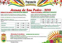 TietarTeVe en Gredos:  Programación del Carnaval de Arenas de San Pedro ...