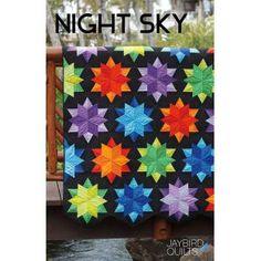 Jaybird Quilts Night Sky patroon