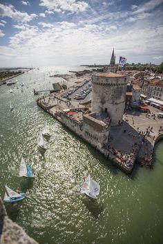 La Rochelle, son port et ses tours #larochelle #port #destination #charentemaritime