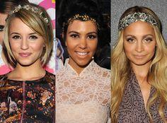 Dianna Agron, Kourtney Kardashian and Nicole Richie