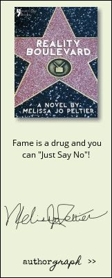 """Authorgraph from Melissa Jo Peltier for """"Reality Boulevard"""""""