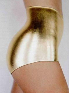 Golden underwear ,O