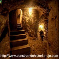Cidade subterrânea de Derinkuyu é um dos maiores mistérios da humanidade