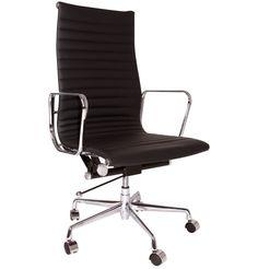 The Matt Blatt Replica Eames Group Aluminium Chair CF Standard by Charles