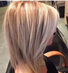 Medium Layered Haircuts, Medium Hair Cuts, Medium Hair Styles, Short Hair Styles, Medium Curly, Medium Length Hair With Layers Straight, Choppy Layers, Layered Bob Hairstyles, Medium Long