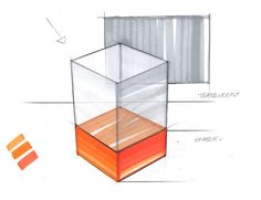 How to draw transparency with markers - Design sketching tutorial by Spencer Nugent on IDsketching.com