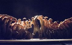 Dust, a new dance choreographed by Akram Khan and performed by the English National Ballet at the Barbican Theatre