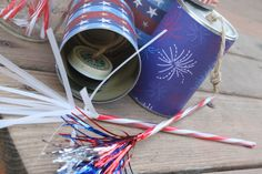 tin can noise makers for the 4th!