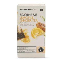 Fruit Infusion Lemon & Ginger Tea 40g
