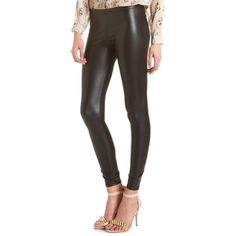 4d0c5fa16036b1 Charlotte Russe High-Rise Liquid Leggings ($15) ❤ liked on Polyvore  featuring pants
