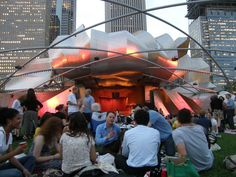What's more fabulous than a concert under the stars in the middle of a beautiful city?  The Grant Park Music Series - Chicago