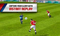 FIFA 12 - Android game screenshots. Gameplay FIFA 12.