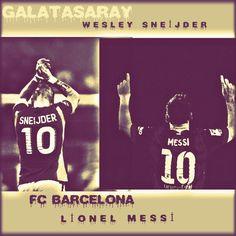 Messi -Sneijder❤
