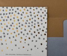 Lavish New 2012 Letterpress Wedding Stationery from Bella Figura