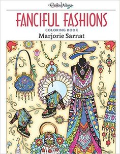 Fanciful Fashions Coloring Book Giveaway