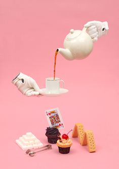 Tea party | Photography by James Kape and Briton Smith.