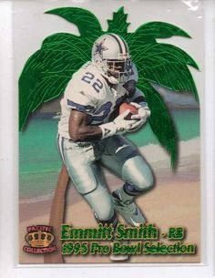 Giving these away  1995 Crown Royale NFL Football Pro Bowl Die Cuts #PB17 Emmitt Smith Cowboys