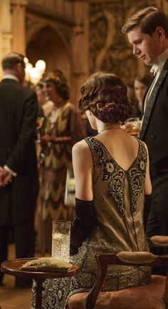 """""""this Downton Abbey dress and gloves... <3"""""""