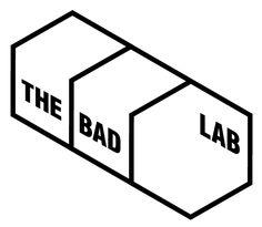 The bad Lab logo Shirt Logo Design, Graphic Design Fonts, Font Design, Ci Design, Typo Logo, Logo Branding, Library Logo, Design Creation, Dynamic Logo