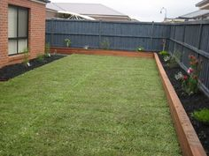 Image result for use decking for raised beds