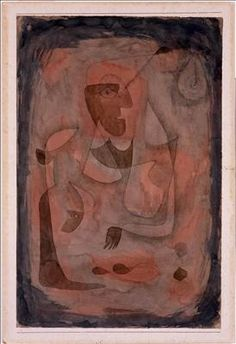 Paul Klee  1879, Munchenbuchsee, Switzerland - 1940, Muralto, Switzerland | Sleight of Hand, 1931  Ink and watercolor on paper mounted on cardboard  48.3 x 31.7 cm