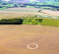 Crop Circle At Etchilhampton, nr Devizes, Wiltshire. Reported 25th July 2011.
