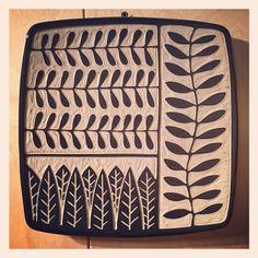 Botanical Series By Jennifer Falter Sgraffito on www.springfieldpottery.com