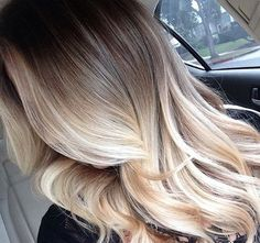 25 Hottest Blonde Ombre Hairstyles 2017