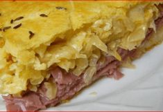 A pot pie made with refrigerated crescent roll crust has the flavors of a reuben sandwich. It& a great way to use up extra corned beef. Cooking Corned Beef, Corned Beef Recipes, Meatloaf Recipes, Pork Recipes, Chicken Recipes, Reuben Casserole, Casserole Recipes, Enchilada Casserole, Beef Casserole