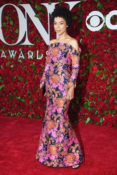 Sophie Okonedo in Zac Posen- 2016 Tony Awards Best Dressed by The He Said She Said Experience