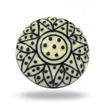 Ceramic Cliftonville Knob By Trinca-Ferro