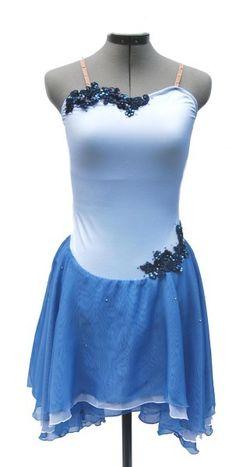 www.glitzagain.com    Dance Costumes, Rhinestones, Glitz, blue, lyrical, sequin