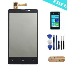 For Nokia Lumia 820 Touch Screen Digitizer Front Outer Touch Panel Replacement + Film + Sticker + Tools #>=#>=#>=#>=#> Click on the pin to check out discount price, color, size, shipping, etc. Save and like it!