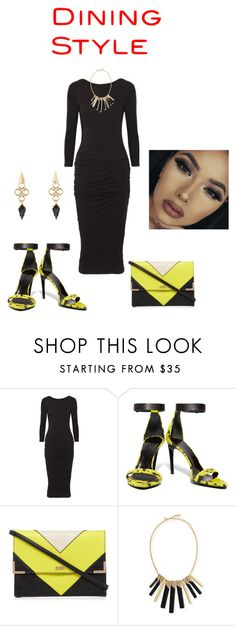 """Going Out"" by stephstyle76 ❤ liked on Polyvore featuring James Perse, Proenza Schouler, Lipsy and Alexis Bittar"
