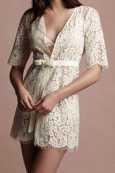 Jessamine Robe from @BHLDN Weddings