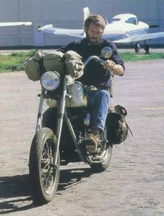 """theclubhousecafe: """"Steve McQueen on his 1947 Indian Chief chopper. """""""