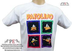 Camisetas personalizadas do Patolino, são várias estampas diferentes, e você ainda pode personalizar com sua frase favorita.  Peça já a sua, entrega rápida.    Whatsapp: 15 9 81600601 R$ 30,00