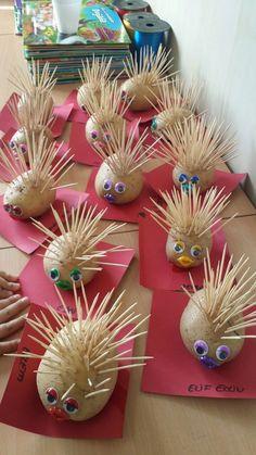 Hedgehog – # Hedgehog - Easy Crafts for All Kids Crafts, Diy And Crafts, Paper Crafts, Autumn Crafts, Summer Crafts, Christmas Crafts, Toddler Activities, Preschool Activities, Nursery Activities