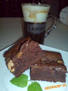 Extra čokoládové  - TROJFAREBNÉ BROWNIE