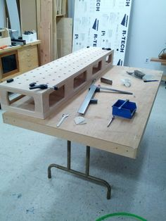 homemade festool table - Google Search