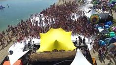 meintent - solar festival stage stretchtent Fabric Structure, Outdoor Events, Tents, Festivals, Style, Teepees, Swag, Concerts, Curtains