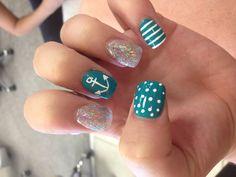 My cute nail art:)