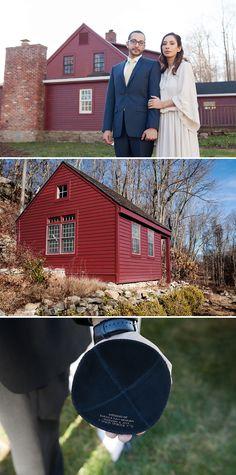 Rustic Farmhouse Jewish wedding in Connecticut, USA