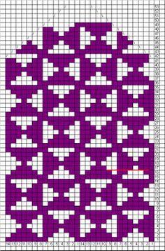 Pia Tuonosen neuleohjeet: Mosaiikkilapaset