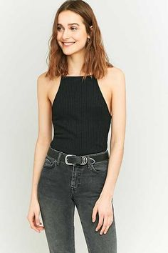 Urban Outfitters Rib T-Back Cami