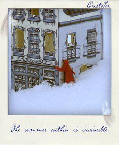 Polaroid. Winter. Copyright ©Cristofor Arts/Cristina Schek