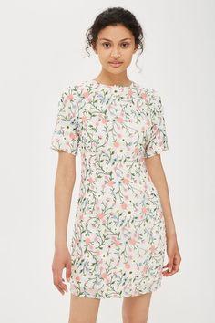 3D Flower A-Line Dress