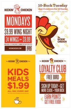 Posters - Kickin Chicken - Fuzzco